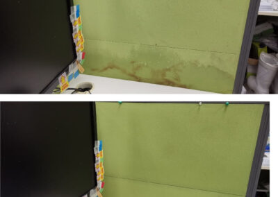Partition Board Cleaning